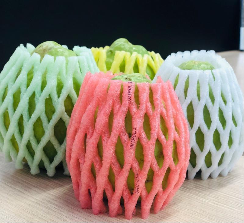 Rede de espuma para frutas